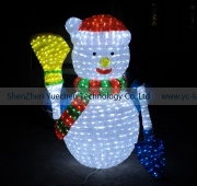 LED Crystal sculpture light